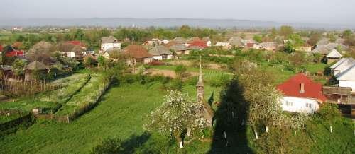 Panorama Bozanta-spre apus