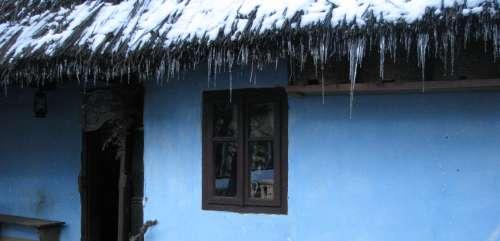 Streasina casei iarna
