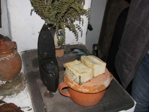 Voşorlău cu cărbuni, sopon de casă