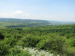 Valea Somesului vazuta de pe Mesteacan